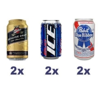 Lager Beer Tasting Set (6x 355ml)